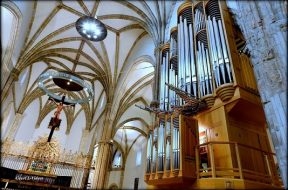 RED-órgano Catedral de Alcalá