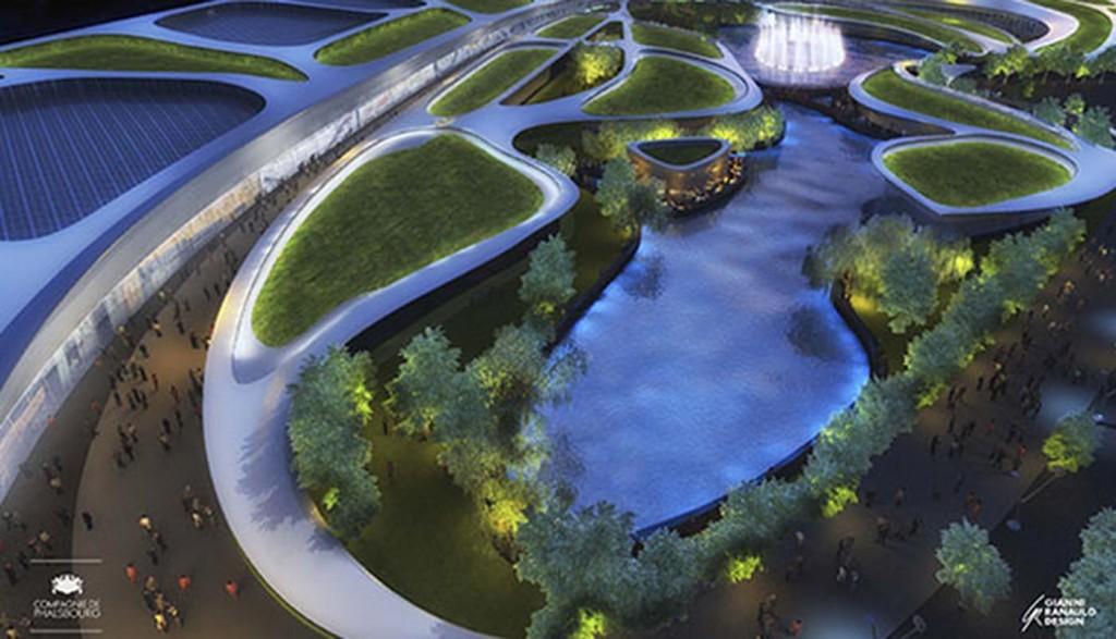 Torrejón: El Open Sky contará con una tirolina que atravesará un inmenso lago.