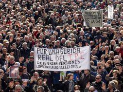 Manufestación Pensionistas y Jubilados