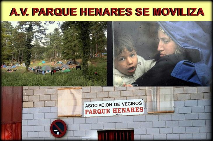 La Asociación Vecinal Parque Henares se moviliza  y pide ayuda para enviar ropa de invierno a los refugiados atrapados en Bosnia.