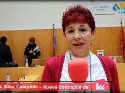 María Rosa Cumplido- Nueva Concejal de IU