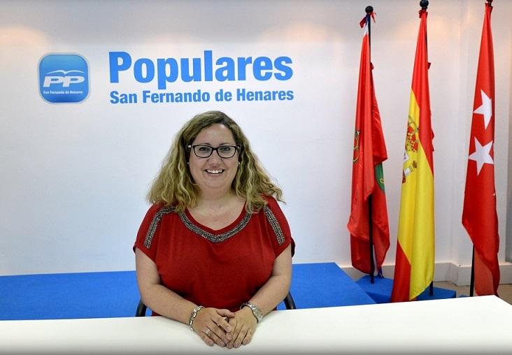 Dimite la  concejala y portavoz del Partido Popular en el Ayuntamiento de San Fernando de Henares, María Pérez Suárez.