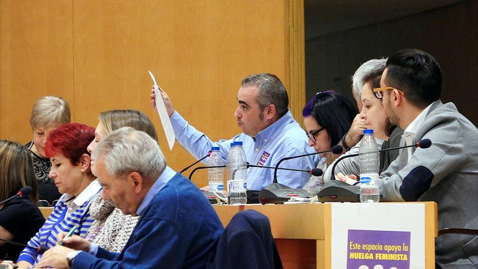 El Psoe de San Fernando de Henares, se consolida como único Partido con iniciativas propias en el Ayuntamiento.