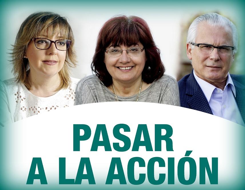 Actúa en Alcalá de Henares. Montserrat Muñoz participará junto a Baltasar Garzón y  Pilar Fernández, en un acto de Actúa el Sábado 3 de marzo.