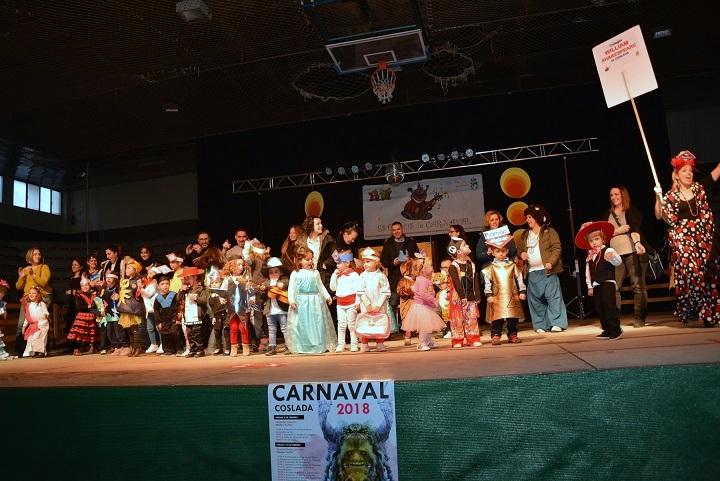 L@s más pequeñ@s de Coslada y San Fernando de Hernares, levantaron el telón del Carnaval 2018 con unas fiestas llenas de diversión.