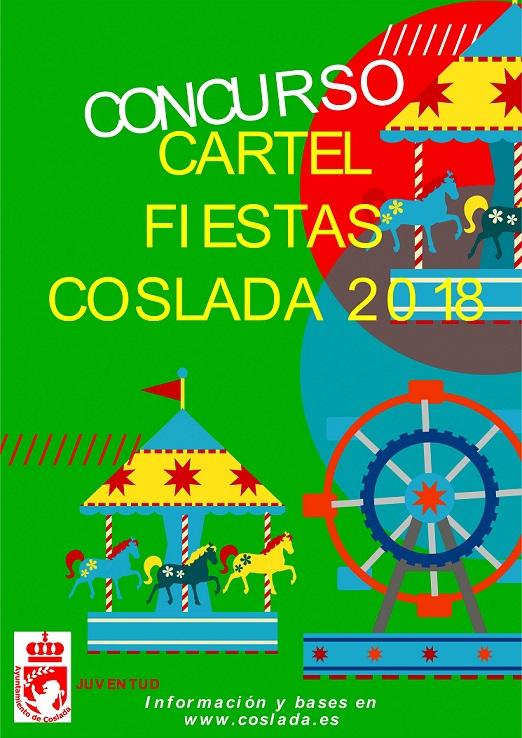 Dotado con 1.000 € de Premio. El Ayuntamiento de Coslada convoca un concurso para seleccionar el cartel de las Fiestas 2018.