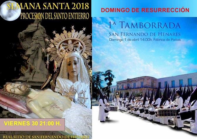 Real Sitio de San Fernando de Henares: Lo que no hay que perderse de la  Semana Santa Sanfernandina 2018.