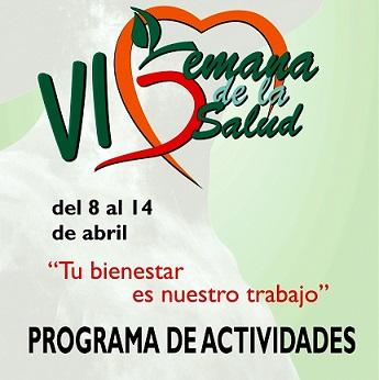 La VI Semana de la Salud de Coslada se desarrollará con el lema 'La salud para todos'. Tendrá lugar del 8 al 14 de abril.