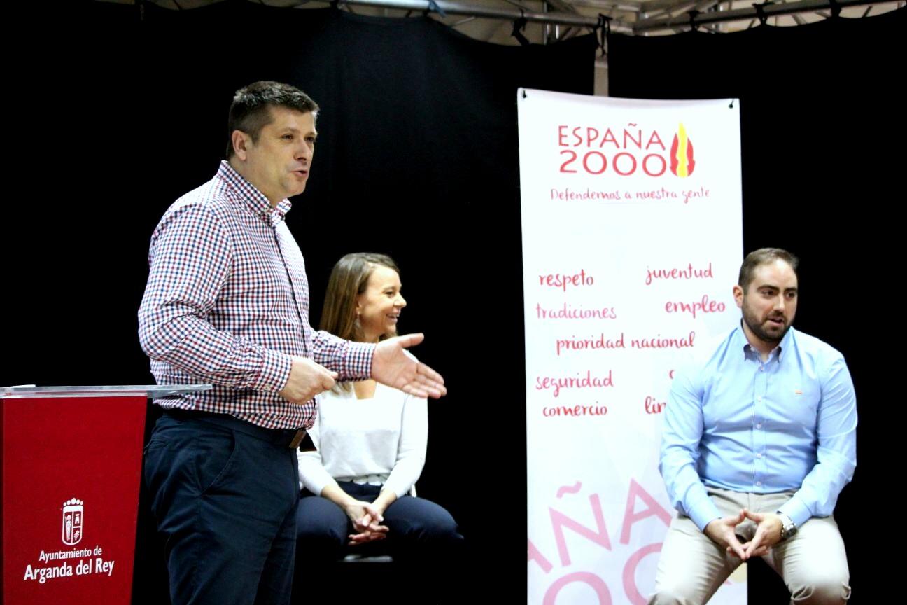 El Partido Político España2000, ya cuenta con delegación en el Municipio de Arganda del Rey.