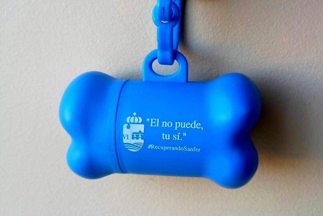 El Ayuntamiento de San Fernando de Henares está dispensando de forma Gratuita bolsas para los excrementos caninos.