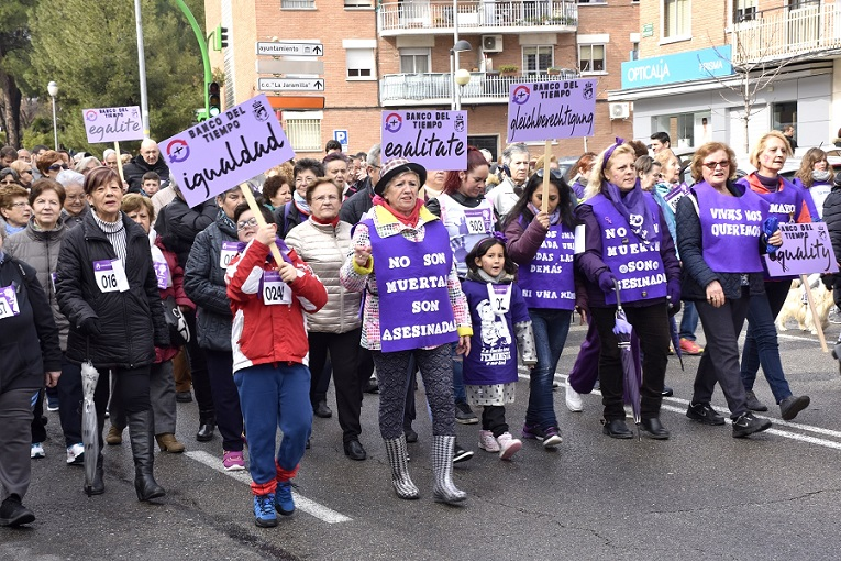 La XXVII Marcha de la Mujer sembró igualdad por las calles de Coslada.