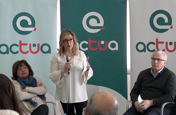 Actúa se presentó el Sábado 3 de Marzo en Alcalá de Henares. Monserrat Muñoz, Pilar Férnandez y Baltasar Garzón expusieron su proyecto en la Ciudad de Cervantes.