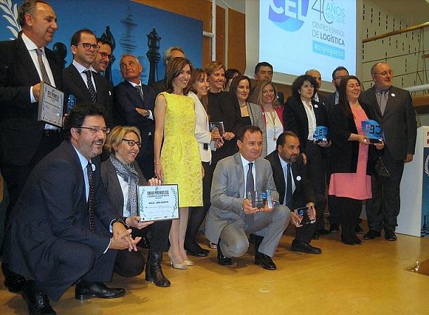 El Centro Español de Logística premia al Ayuntamiento de Coslada por su apuesta clara por el impulso y la consolidación del sector.