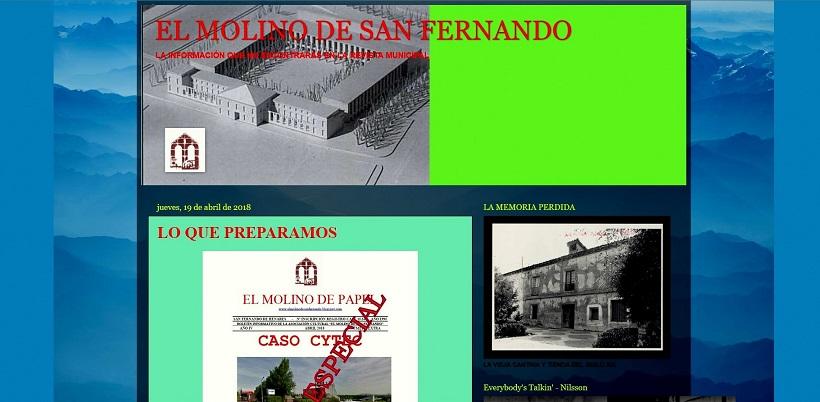 La  interesante información que prepara la Asociación Civico-cultural El Molino, y que ofrecerá a todos/as los vecinos del municipio.