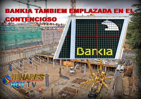 Última hora Caso Plaza España de San Fernando de Henares: Bankia También Emplazada en el Contencioso