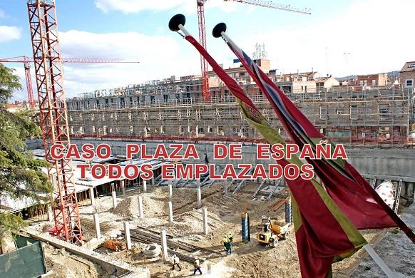 Caso Plaza de España de San Fernando de Henares: Ya están Todos Emplazados.