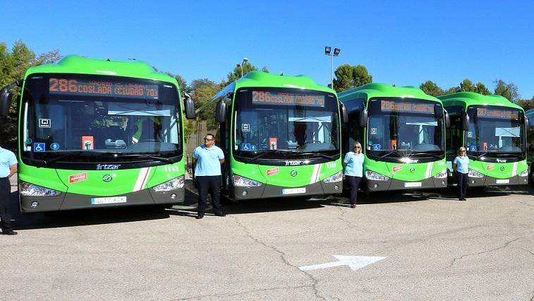 Huelga a nivel regional de las y los trabajadores de la empresa de autobuses que presta servicio en Coslada. Desde hoy 3  hasta el 11 de mayo.