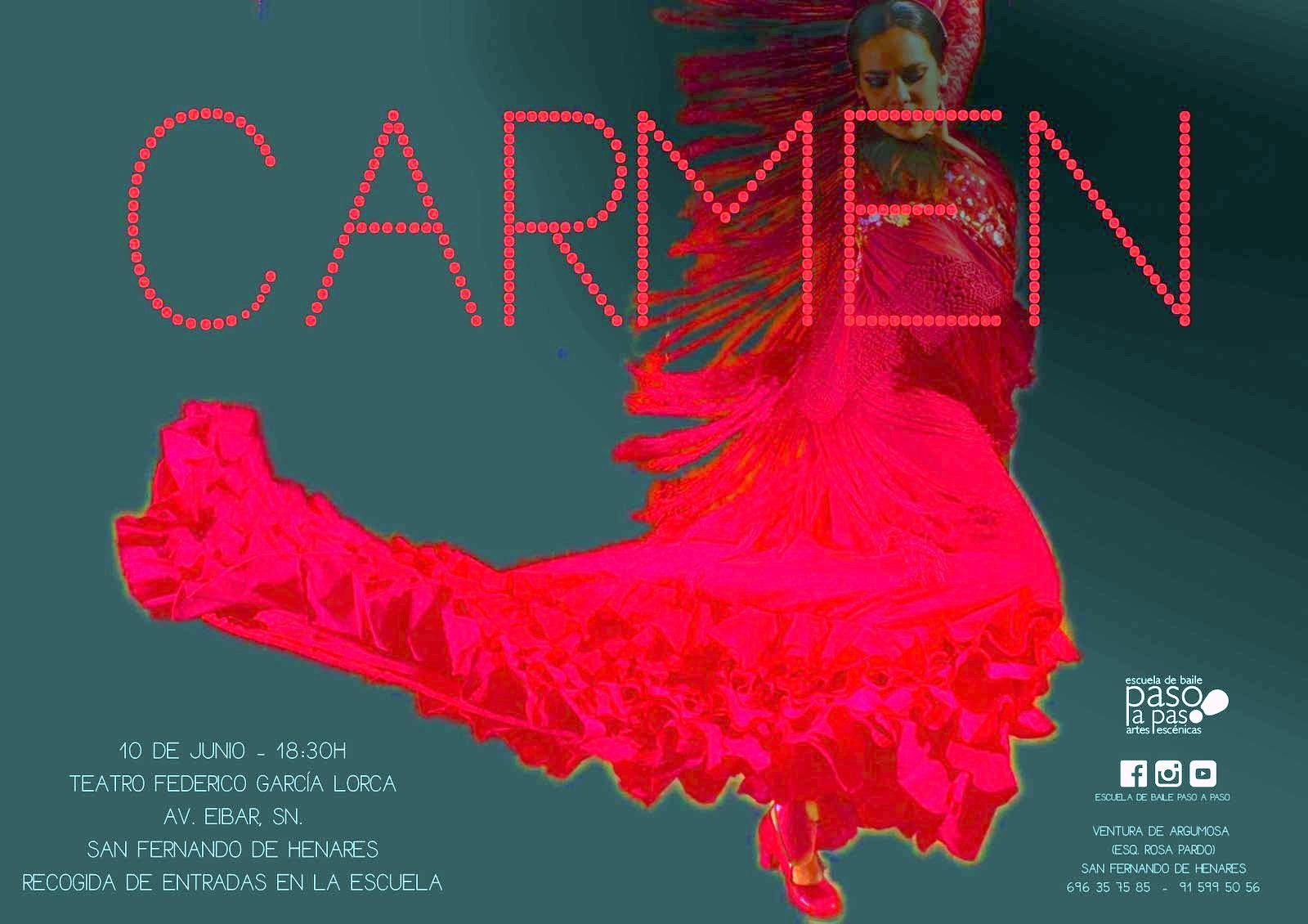 Paso a Paso escuela de Baile, ofrece el Domingo 10 de junio  en el Teatro Federico García Lorca dos interesantes espectáculos.