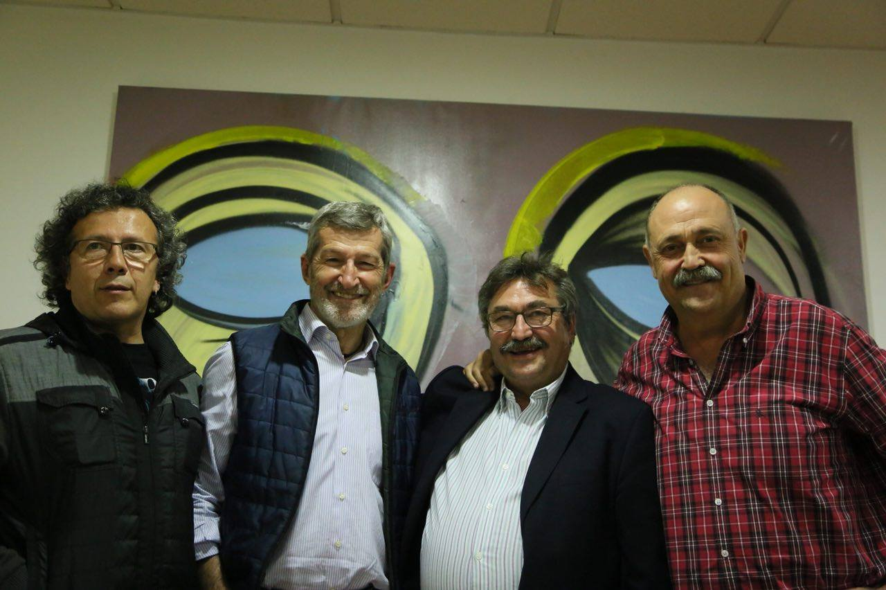 José Luis Sánchez. Coportavoz de Podemos en San Fernando de Henares, y candidato a Secretario General Local