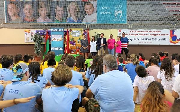 Coslada: 200 niños y niñas toman parte en el III Encuentro de Órganos de Participación Infantil y Adolescente de la RIA.