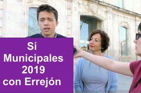 Sí Municipales 2019 con Errejón
