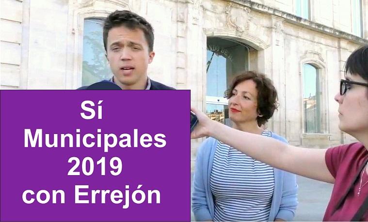 Errejón pugna con los candidatos Pablistas por el poder en seis de los municipios más importantes. Entre ellos Coslada, San Fernando y Alcalá de Henares..