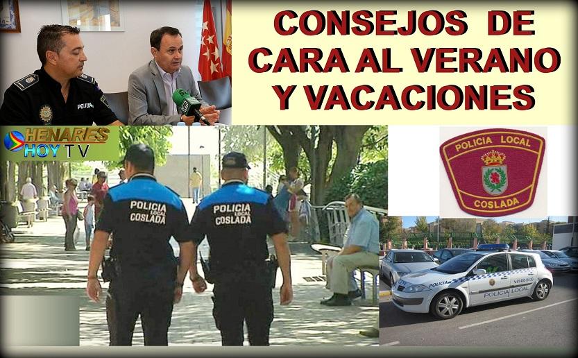La Policía Local, ofrece unos consejos y recomendaciones de seguridad de cara al verano.