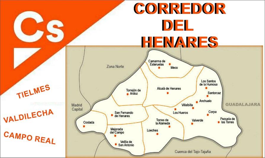 Ciudadanos continúa su expansión en el Corredor del Henares y crea nuevos grupos locales en Tielmes, Valdilecha y Campo Real.