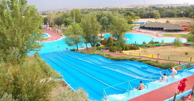 El parque acuático Aquopolis de San Fernando de Henares carece de licencia municipal, según informa la Asc. El Molino.