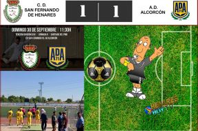 AAJornada 30-09-2018 Sanfer-Alcorcon