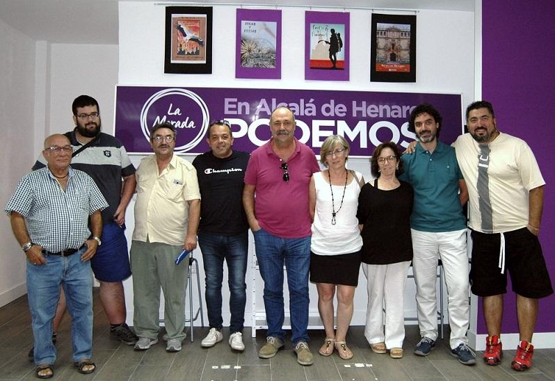 Alcalá acoge la primera reunión de Secretarios Generales de Podemos del Corredor del Henares.