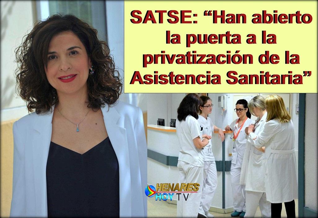 EL SATSE pide a la Asamblea de Madrid que evite este primer paso del gobierno regional para privatizar la asistencia sanitaria.