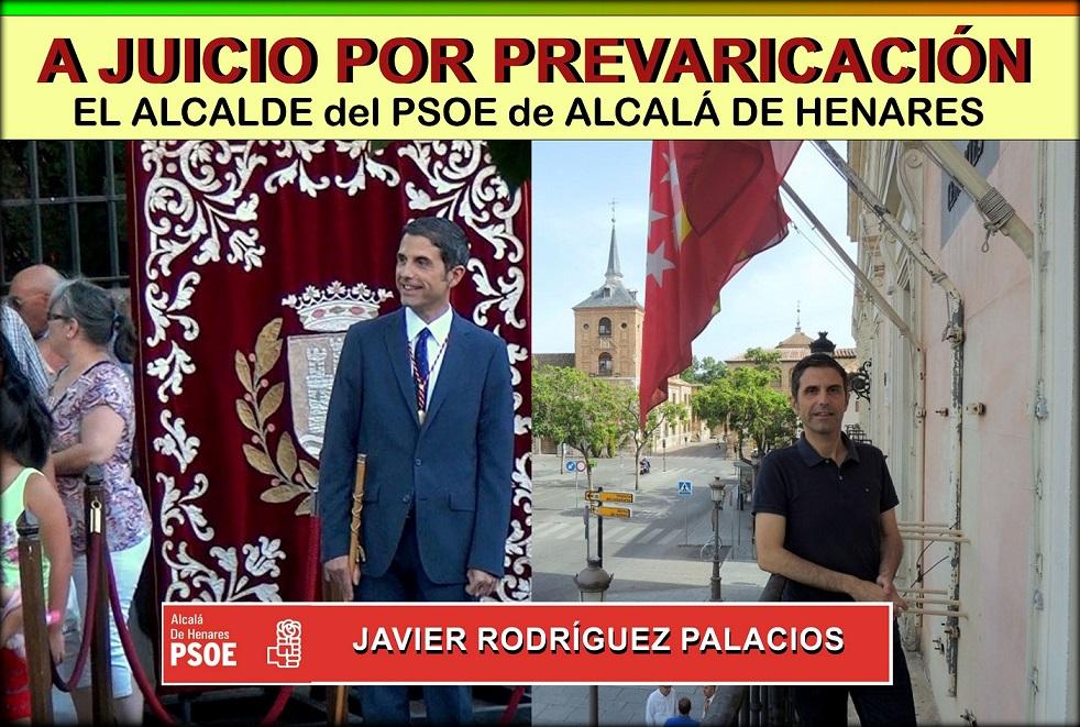 """Miguel A. Lezcano (Cs): """"El alcalde de Alcalá, Javier Rodríguez, está ensuciando la imagen de la ciudad cada hora que pasa aferrado al cargo """""""