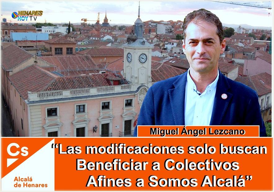Ciudadanos (Cs) Alcalá critica el nuevo Reglamento de Participación Ciudadana que intenta implantar el Equipo de Gobierno del tripartito-  PSOE, Somos Alcalá e IU-.