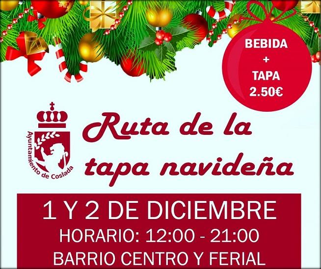 La segunda edición de la Ruta Navideña de Coslada se desarrollará el primer fin de semana de diciembre, y tendrá lugar en los barrios del Casco y Ferial