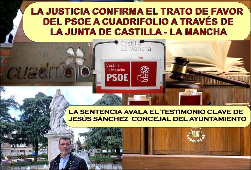 La sentencia del caso Cuadrifolio avala el testimonio del testigo clave en la causa: Jesús Sánchez concejal del Ayuntamiento de San Fernando de Henares.