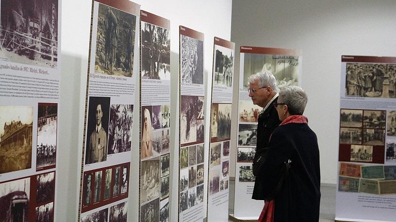 Coslada: El Nuevo Centro Cultural acoge una exposición sobre el papel de Rumanía en la I Guerra Mundial