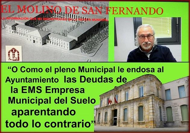 """Un diálogo Surrealista: """" O como el Pleno Municipal, le endosa al Ayuntamiento Las deudas de la EMS APARENTANDO TODO LO CONTRARIO"""""""