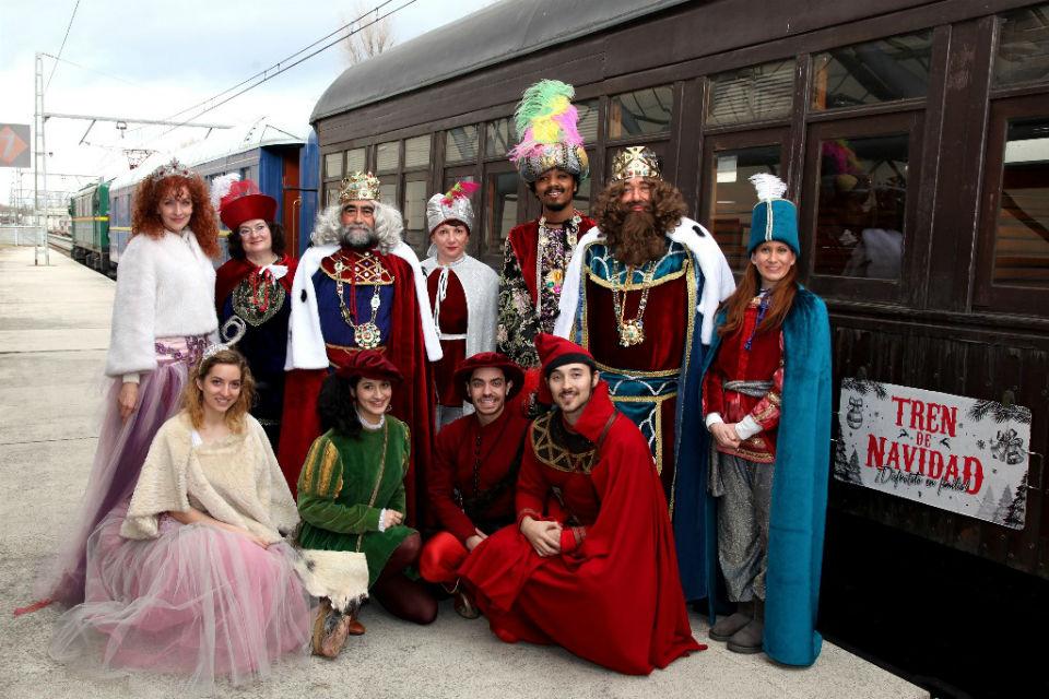 El Gobierno de la Comunidad de Madrid, apuesta por el Turismo en el Corredor del Henares.Torrejón de Ardoz  ya tiene este año hasta un tren de Navidad.