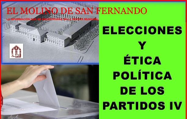 """Última Publicación de la A. El Molino: """"Elecciones y ética política (de los partidos) IV"""""""