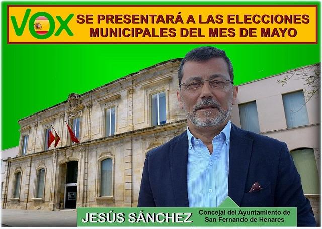 Vox se presenta en San Fernando de Henares a las próximas elecciones Municipales de Mayo.