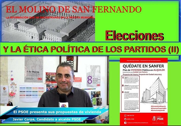 Opinion: Elecciones-Municipales/2019  y la Ética Política de los Partidos (II) Asc. El Molino.