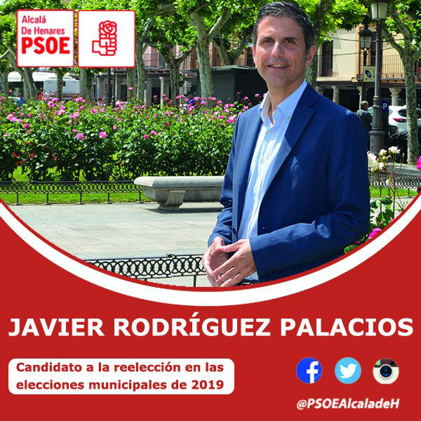 Javier Rodríguez Palacios, recien recientemente elegido candidato del PSOE a la reelección.