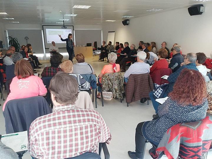 El Ayuntamiento de Coslada, celebra la jornada de trabajo 'Coslada, ciudad amigable con las personas mayores'.