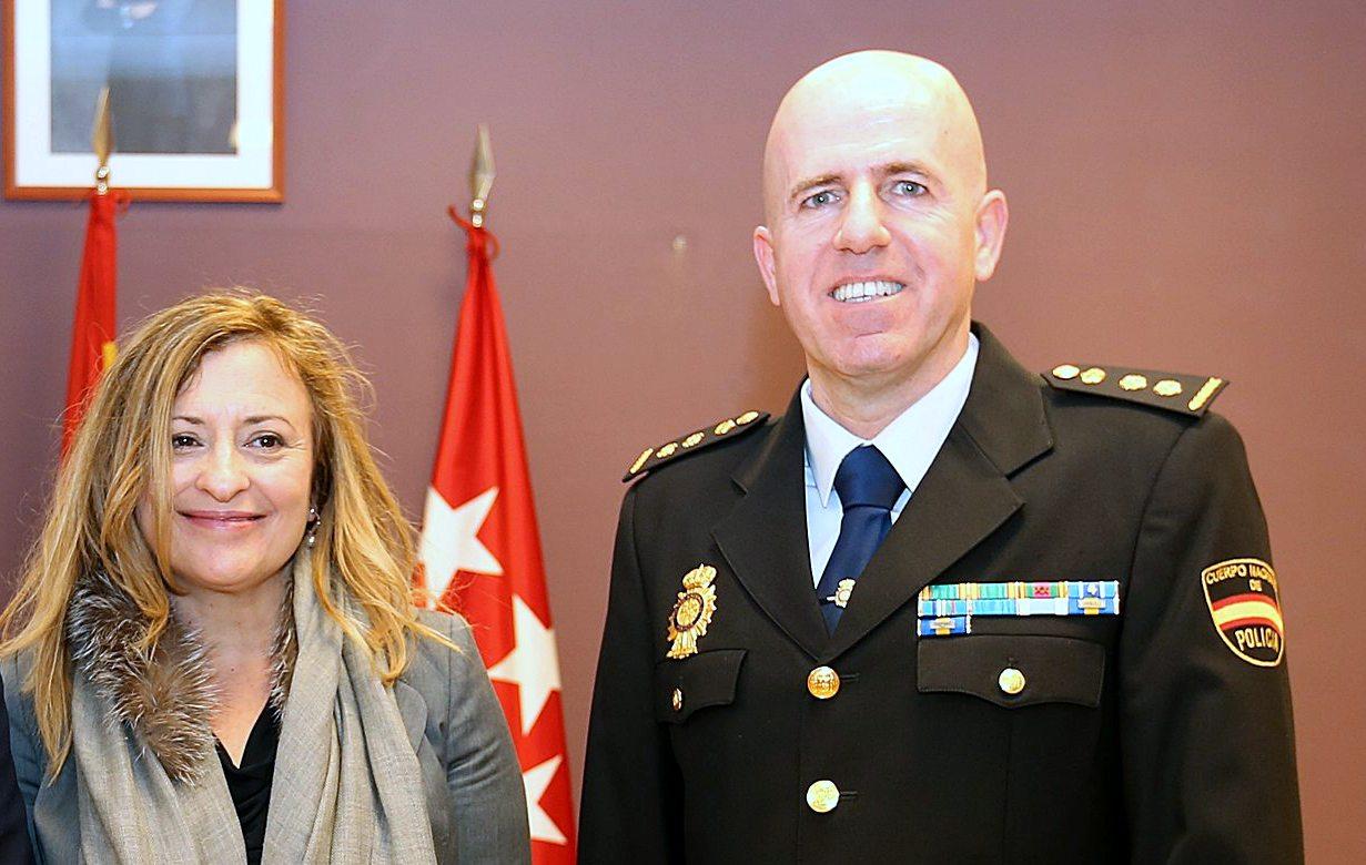 Luis Javier Navaz Toma  posesión del nuevo comisario del Cuerpo Nacional de Policía de Coslada-San Fernando.