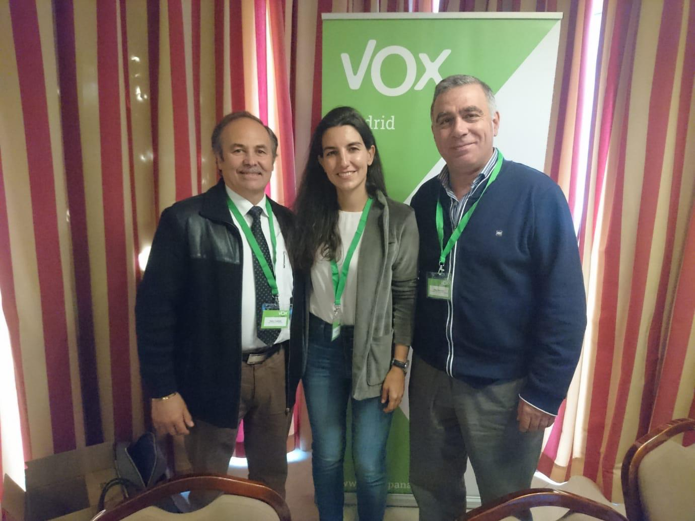 Domingo 3 de Marzo, Plaza de Ondarreta: Mesa Informativa de Vox – San Fernando de Henares.