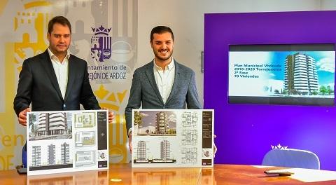 El Ayuntamiento de Torrejón de Ardoz construirá 70 viviendas protegidas entre 78.000 y 140.000€.