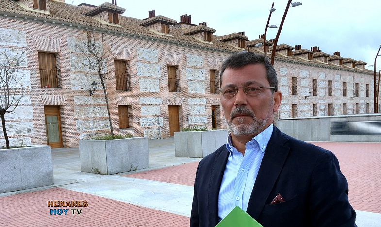Vox rechaza la afiliación de Jesús Sánchez, concejal no adscrito y exedil del PP en el Ayuntamiento de  San Fernando de Henares.