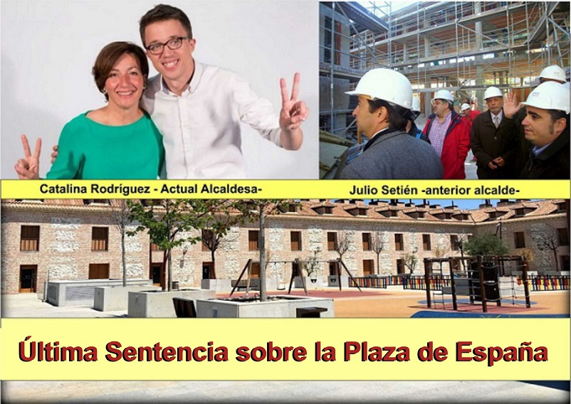 Crónica Juzgados: Analizamos la úItima sentencia sobre La Plaza de España de San Fernando de Henares.