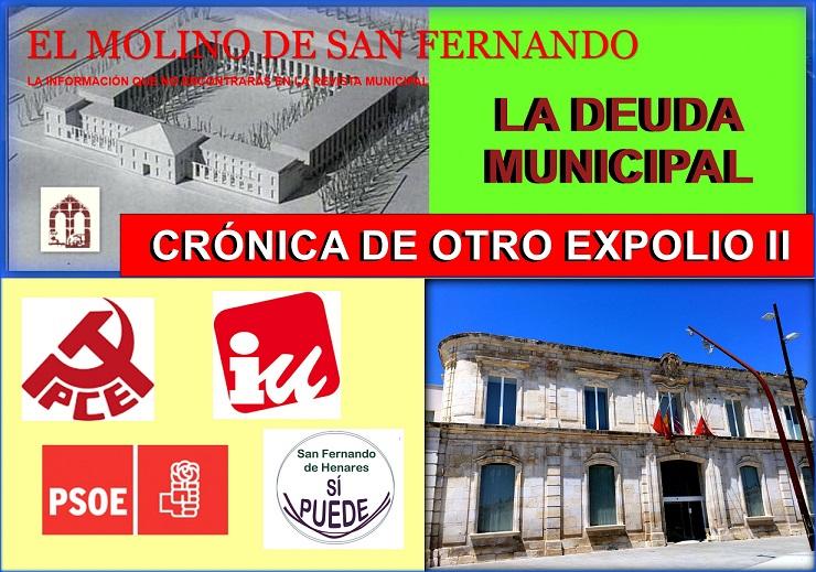 Ayuntamiento de San Fernando de Henares: CRÓNICA DE OTRO EXPOLIO (II)